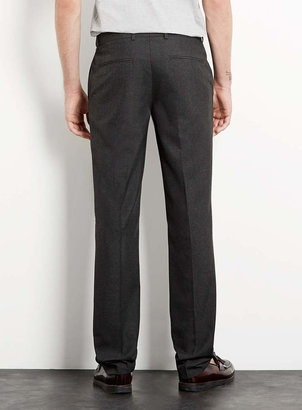 Topman Charcoal Skinny Dress Pants