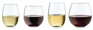 Libbey Glass Vineyard Reserve 8-Piece Stemless Wine Glass Set