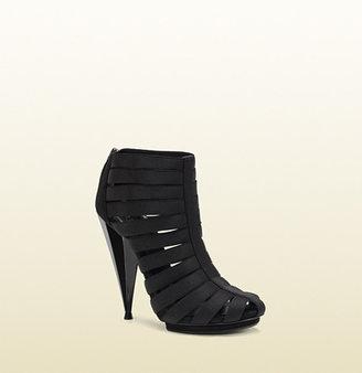 Gucci Isadora Elastic Gladiator Bootie