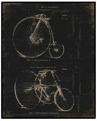 PTM Images Architectural Bikes Wall Art