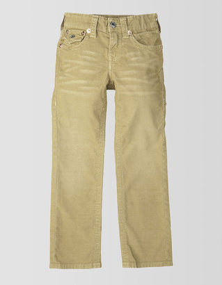 True Religion Boys Jack Slim Corduroy Pant