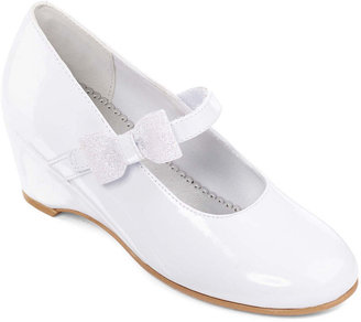 Christie & Jill Kaitlyn Girls Wedge Dress Shoes - Little Kids $35 thestylecure.com