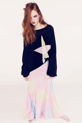 Wildfox Couture Ice Witch Pfeiffer Sweater in Clean Black