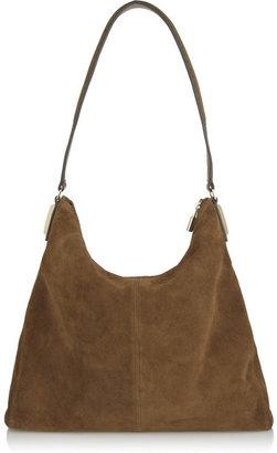Elizabeth and James Pyramid suede shoulder bag