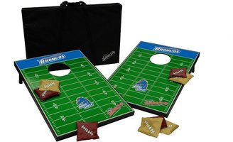 Tailgate Boise state broncos toss beanbag game