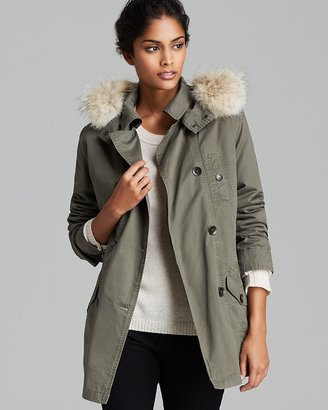 Marc New York Coat - Washed Cotton