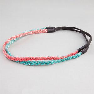 Full Tilt 2 Piece Bead/Braided Headband