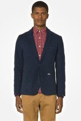 Lacoste L!VE Pique Blazer With Striped Trim