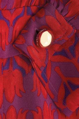 Tory Burch Judi printed stretch-silk dress