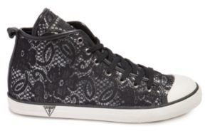 GUESS Julia Lace High-Top Sneakers