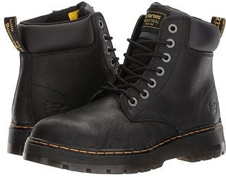Dr. Martens Work Winch Steel Toe (Black Wyoming) Men's Work Boots