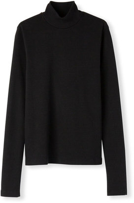 RE/DONE 60s Mock-Neck Long-Sleeve Top