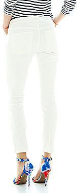 Joe Fresh Slim-Fit Moto Jeans