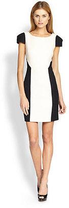 4.collective Blocked Tweed Dress
