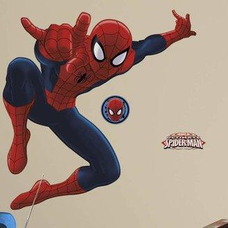 Spiderman Roommates Marvel Ultimate Peel & Stick Wall Decal