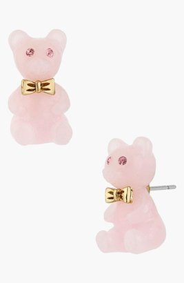Betsey Johnson Gummy Bear Stud Earrings
