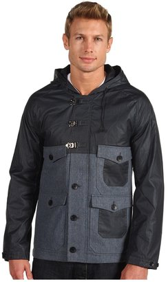 Shades of Grey Two Tone Hooded Jacket (Gunpowder) - Apparel