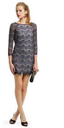 Tibi Babbet Lace Shift Dress
