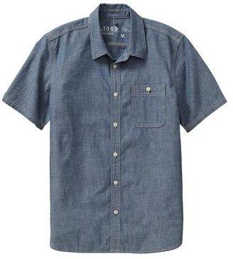 Gap 1969 Iconic Chambray Shirt
