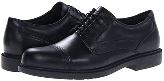 Dunham Jackson Cap Toe Waterproof (Black) Men's Lace Up Cap Toe Shoes