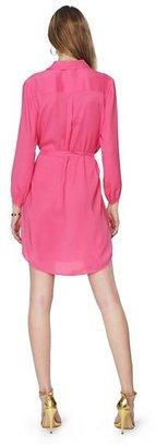 Juicy Couture Satin Shirtdress