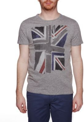 Ben Sherman Union Jack Graphic T-Shirt