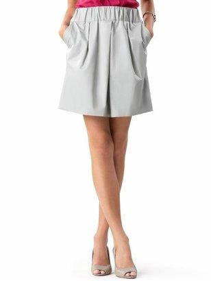 Banana Republic Petite cotton essential skirt