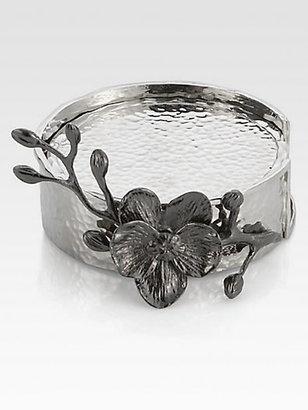Michael Aram Black Orchid Coasters, Set of 6