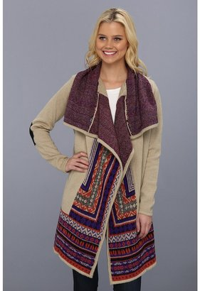Kensie KS0K5393 Cardigan (Buff Combo) - Apparel