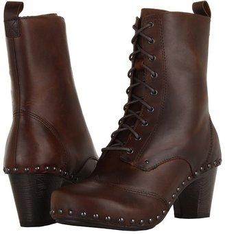Dansko Nat Women's Lace-up Boots