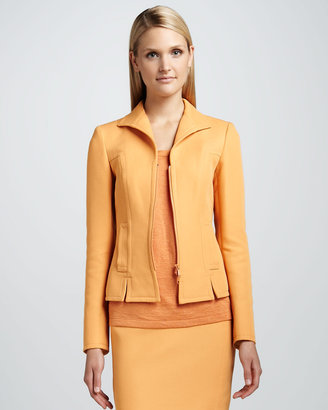 Lafayette 148 New York Loretta Zip Jacket