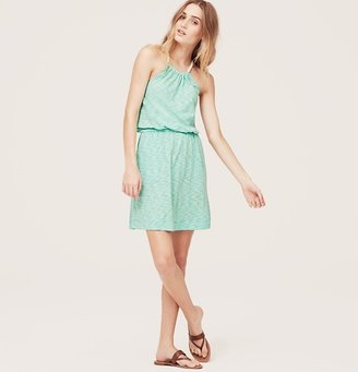LOFT Beach Rope Halter Dress