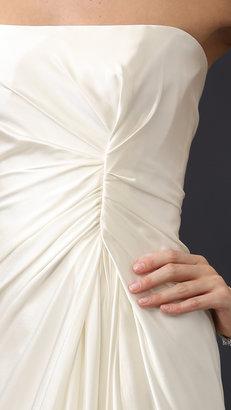 Reem Acra Lady Slipper Gown