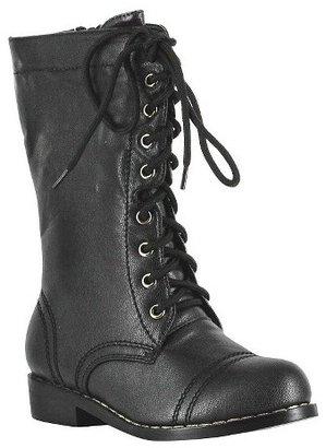 Kid's Combat Boots Black