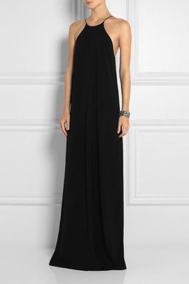 Calvin Klein Collection Jarvis crepe maxi dress
