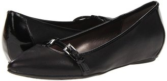 Kenneth Cole Reaction Uptown Girl (Black Leather) - Footwear