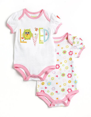 Dena HAPPI BY Newborn Girls 0-9 Months Two-Piece Bodysuit Set