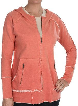 True Grit Dylan by Vintage French Terry Zip Sweatshirt - Cotton (For Women)