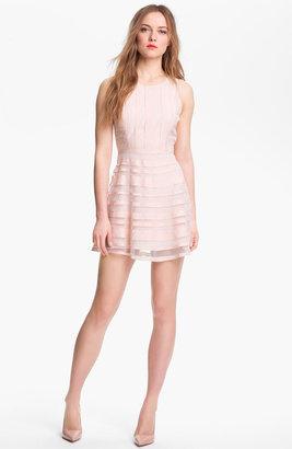 Parker 'Core' Silk Fit & Flare Dress