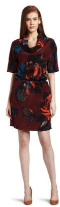 Kenneth Cole Women's Irish Rose Print Dress