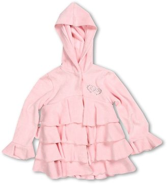 Kate Mack L/S Terry Cover-Up (Toddler) (Pink) - Apparel