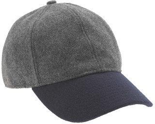 J.Crew Colorblock wool baseball cap