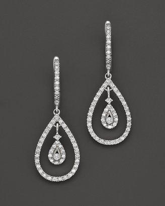Bloomingdale's Diamond Teardrop Drop Earrings in 14K White Gold, .45 ct. t.w.