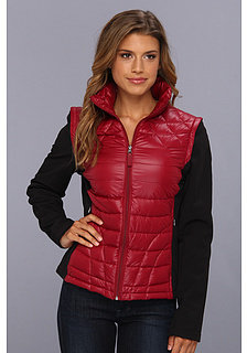 Calvin Klein Packable Down w/ Zip Off Soft Shell Sleeves
