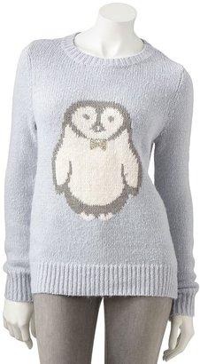 Lauren Conrad penguin sweater