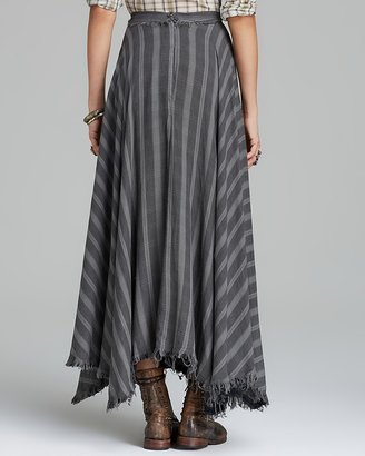 Free People Maxi Skirt - Gauzy Wool