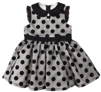 Harajuku Lovers Mini for Target® Toddler Girls' Polka Dot Dress - Black/Black