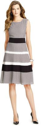 Anne Klein Escher Knit Dress