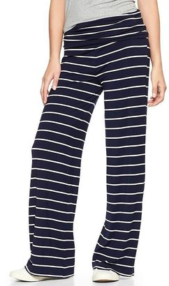Gap Striped foldover pants