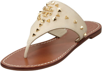 Tory Burch Dale Studded Thong Sandal